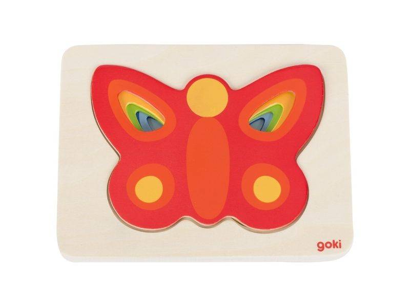Layered butterfly puzzle, GOKI-57486