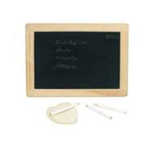 Small board, set with chalk and sponge, Goki 58952