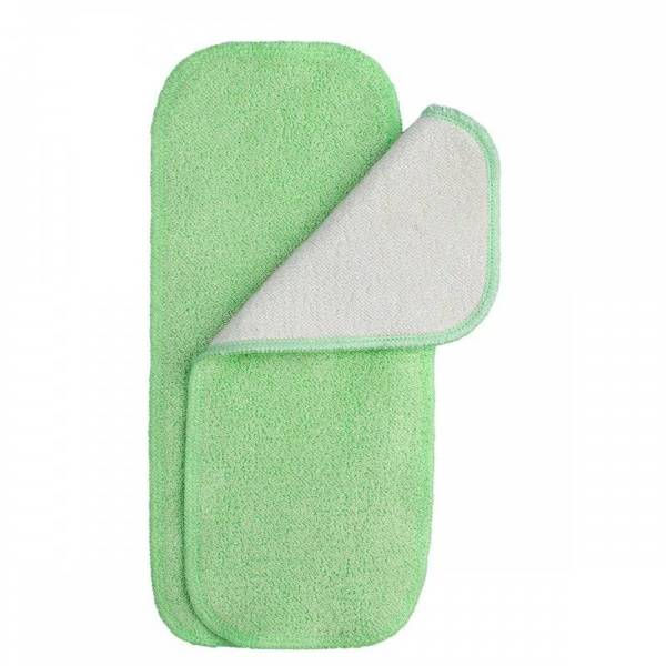 Volume, Bamboo and Cotton Insert Green 2pcs