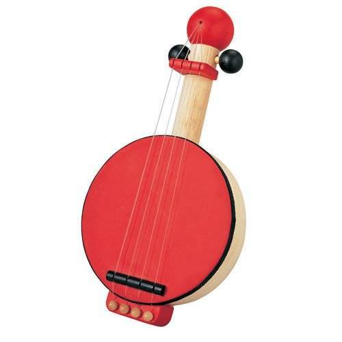 Wooden banjo, music toy, Plan Toys®