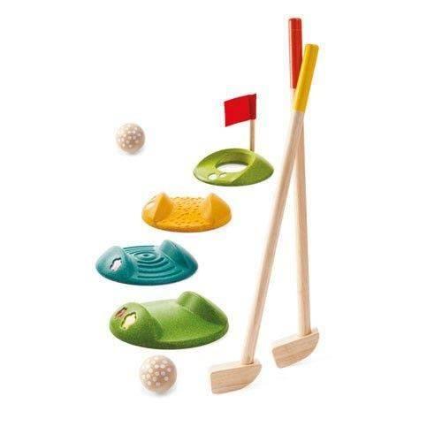 Mini golf - drewniana gra rodzinna Plan Toys