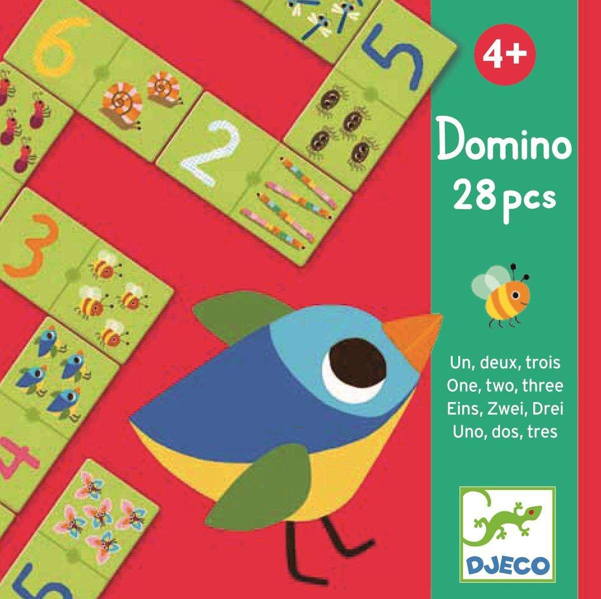 Gra tekturowe Domino z liczbami DJ08168
