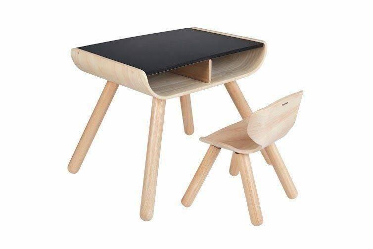Tylko na zewnątrz Meble dla dzieci, stolik i krzesełko | Plan Toys - sklep ekoMaluch NU05