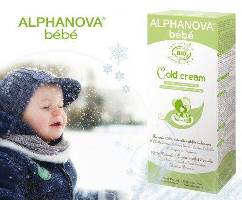 Alphanova Bebe Krem Ochronny na Zimę, cold cream, 50ml