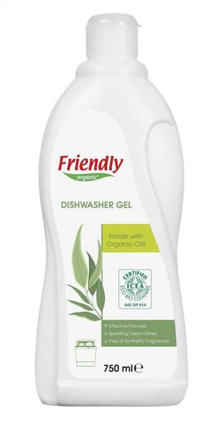 Friendly Organic, Płyn do mycia naczyń, eukaliptusowy, 750 ml