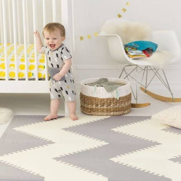 Mata Playspot Grey/Cream GEO